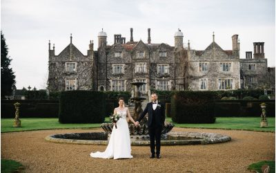 Louise & Andy's Christmas Eastwell Manor Wedding