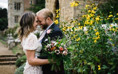 Camille & Tommy's elegant Penshurst Place wedding